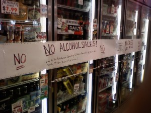 No Alcohol Sales during North American Indian Days July 9-13